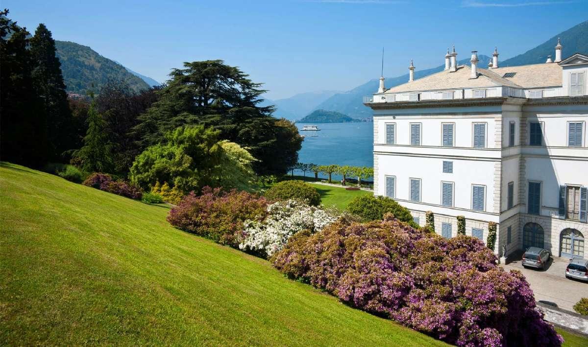 Berømte Villa Melzi ved Comosjøen