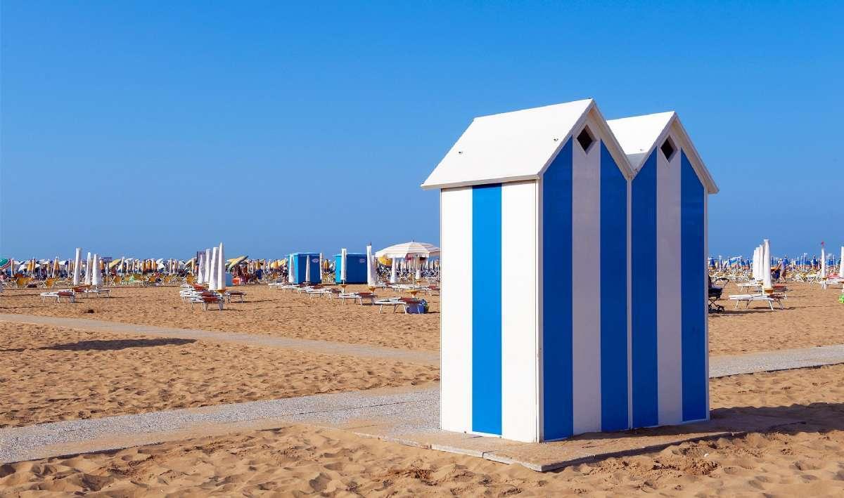 Die Strännde an der Adriaküste sind bei Groß und Klein beliebt