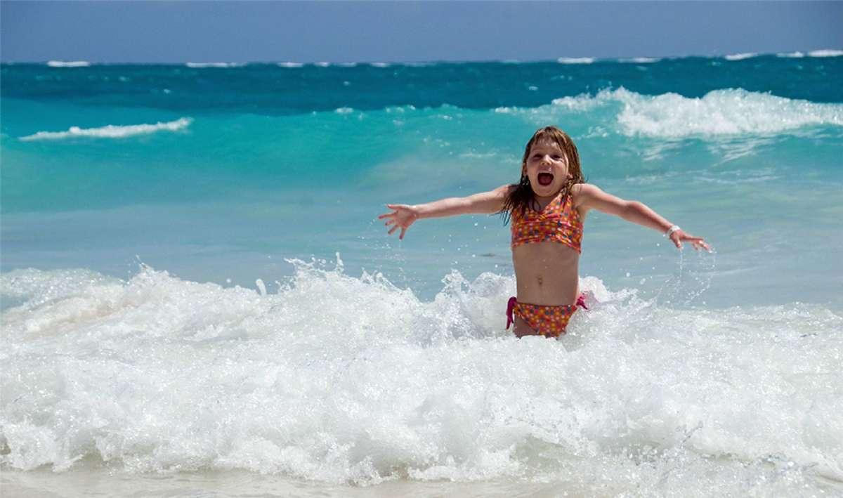 Ihre Kinder werden viel Spaß am Strand haben