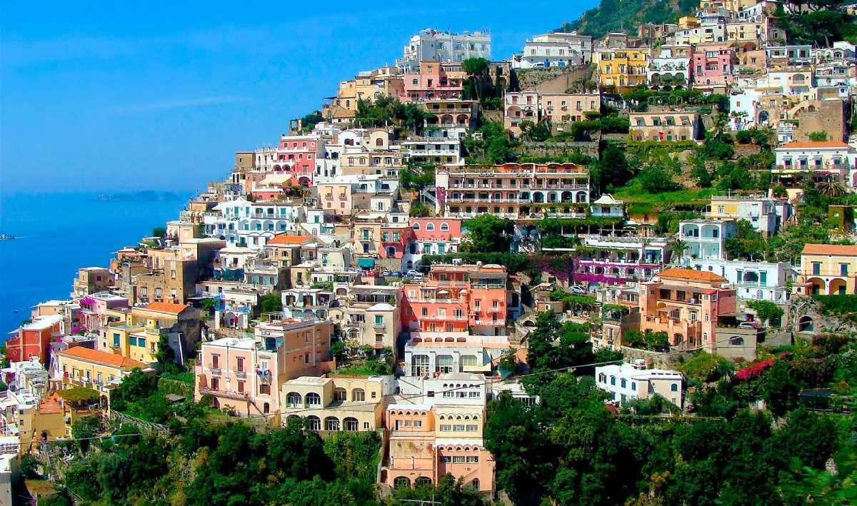 Her er en annen vinkel på nydelige Positano