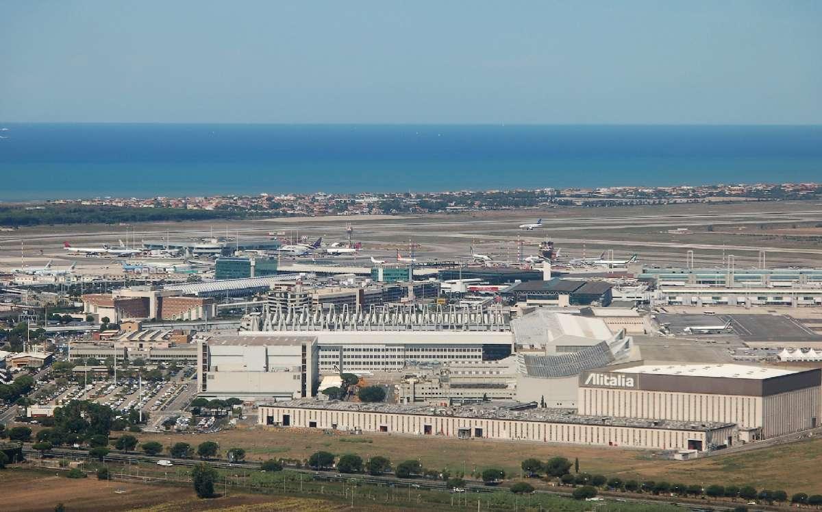 Romas internasjonale flyplass Leonardo da Vinci Fiumicino