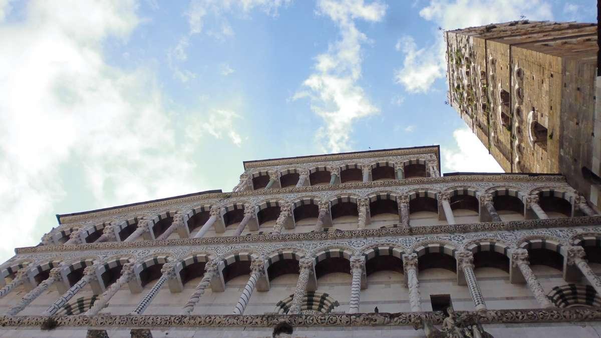 Die Kathedrale von Lucca