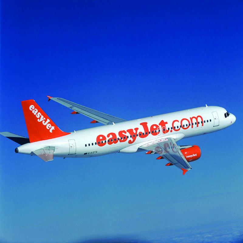 Reiser med flyselskapet easyJet til Italia