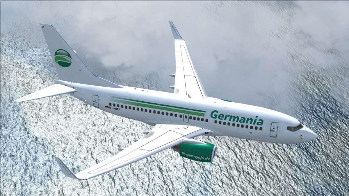Rejs med flyselskabet Germania på ferie til Italien
