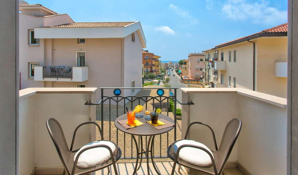 Balkon til Standard værelse