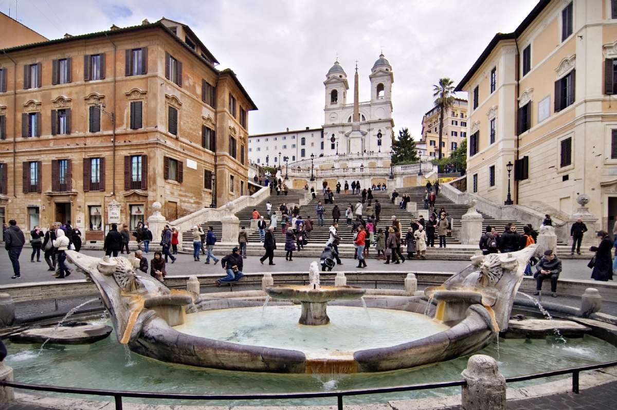 Den Spanske Trappe i Rom (foto: 2pi.pl, Wikimedia Commons)