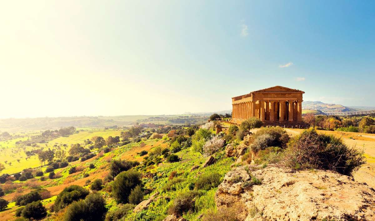 Concordiatemplet viser Siciliens græske fortid