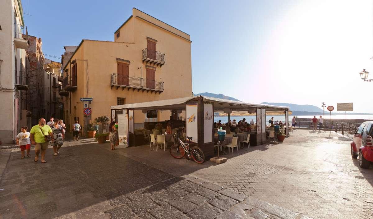 The square below Terrazza Paradiso