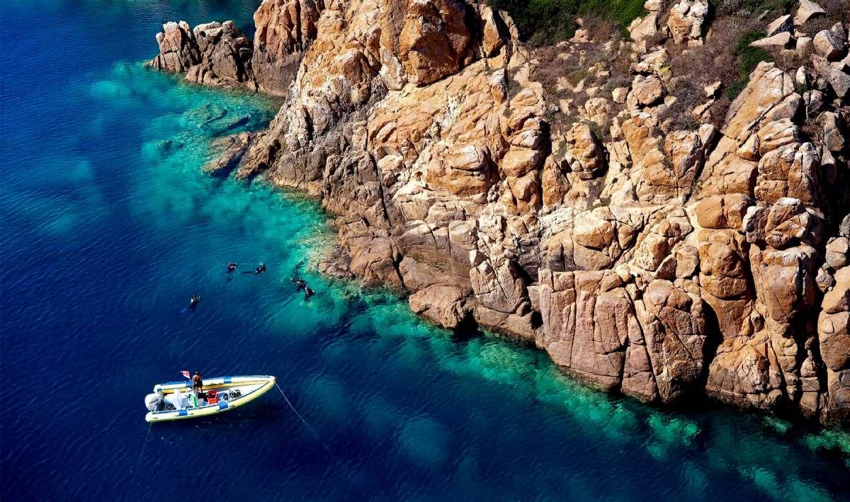 Sardinien har det klaraste vattnet
