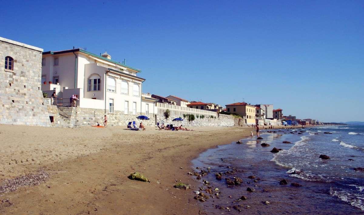 Stranden vid San Vincenzo