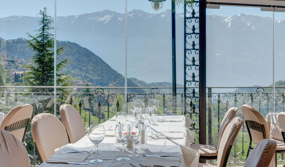 Utsikt från restaurangen