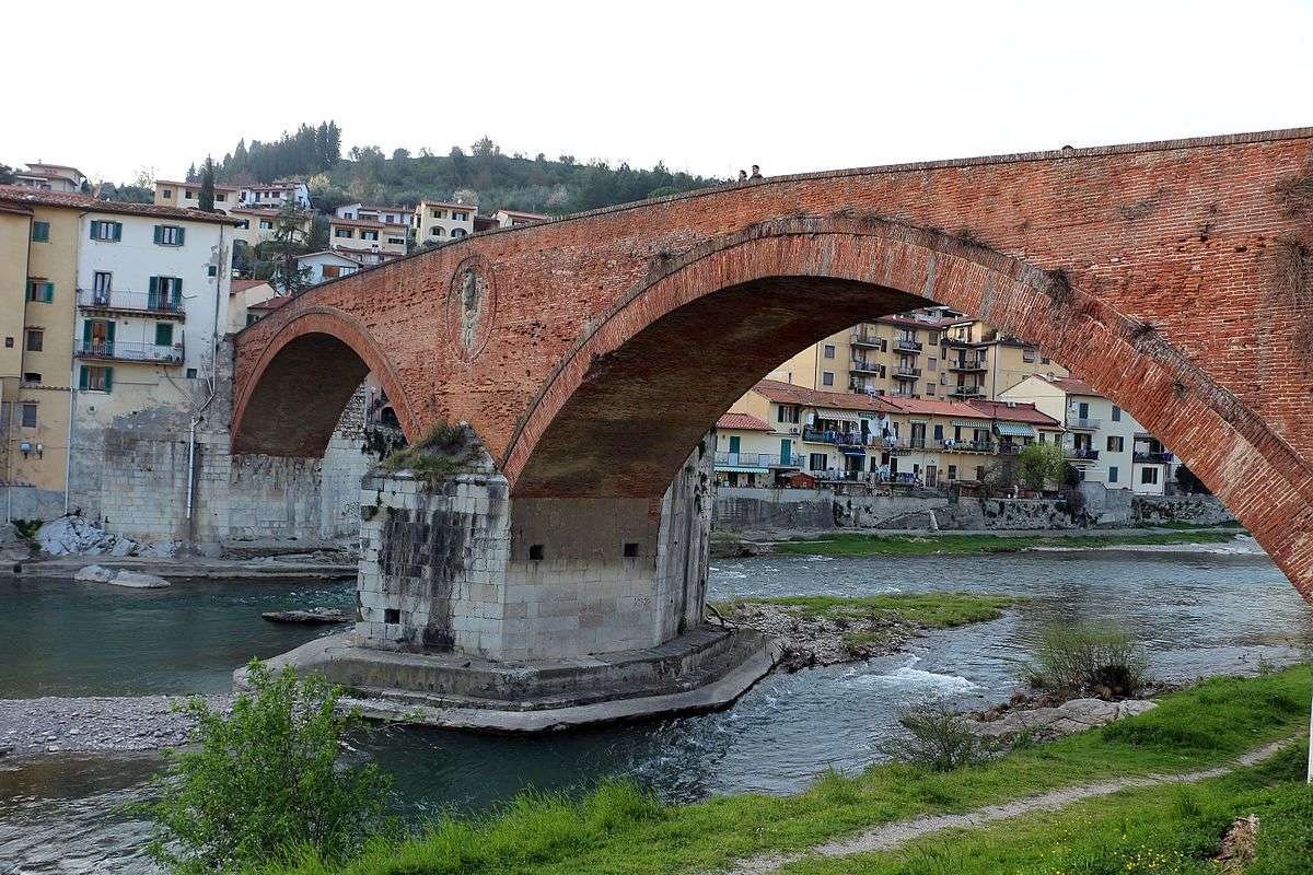 Ponte Medici i Pontassieve (foto: Wikimedia Commons, Sailko)