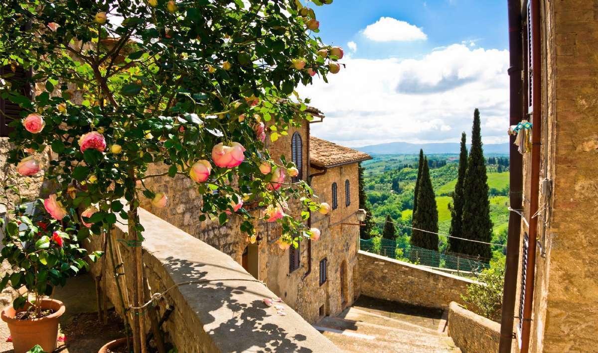 Hold ferie på en Agriturismo i Chianti vindistriktet.