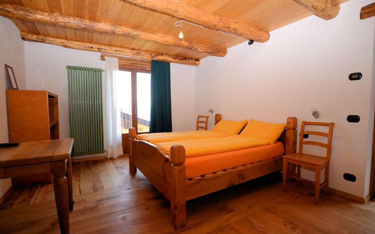 Simple yet comfortable rooms, all differently decorated