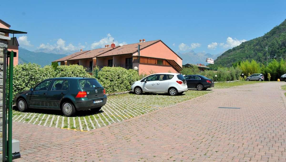Det finns parkering till alla gäster