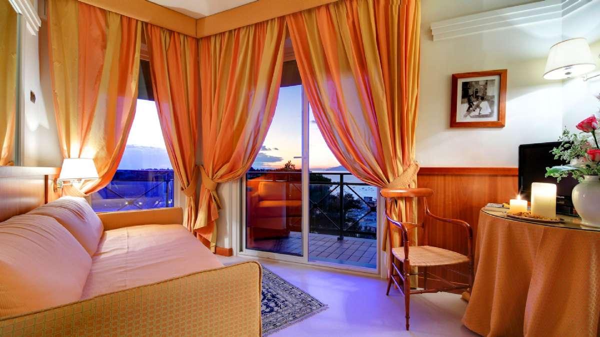 Junior Suite med to balkoner
