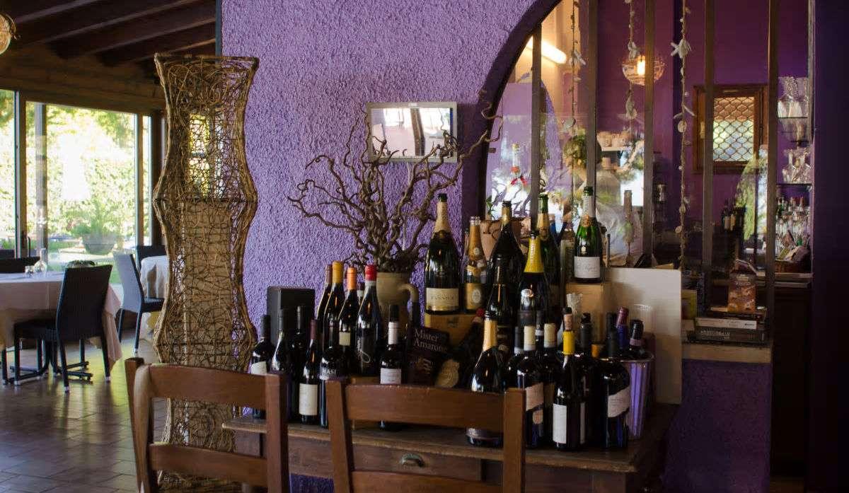 Restaurangen åå Residence San Michele