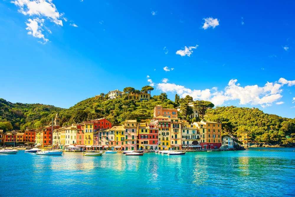 Når du rejser til Ligurien kan du bl.a. besøge Portofino.