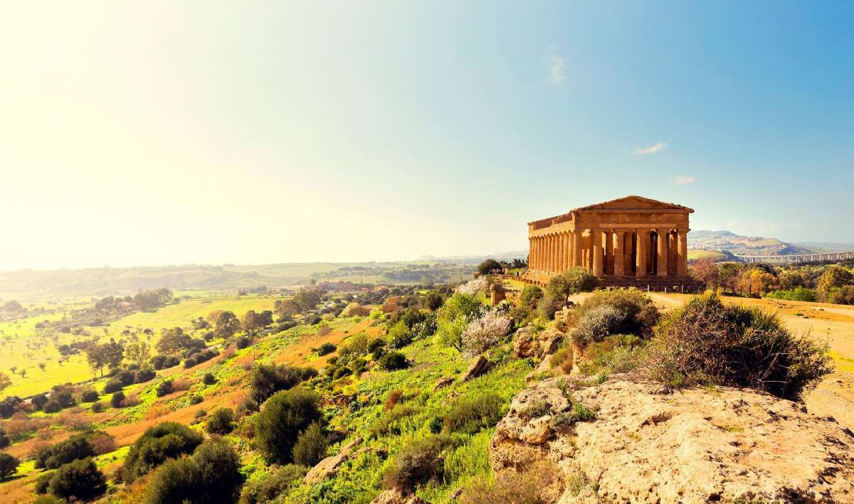 Rejser til Sicilien byder på dramatiske landskaber