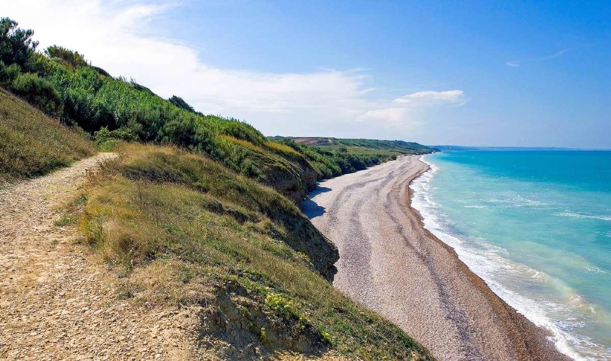 Naturreservatet Punta Aderci som ligger lidt nord for Vasto