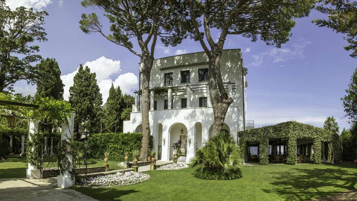Skal du arrangere fest kan det skje i Villa Eva, som ligger tett på Villa Maria.