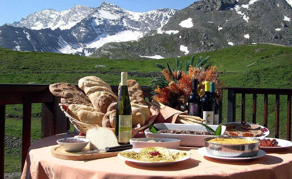 När du reser till Aosta får du något för både ögon och gom