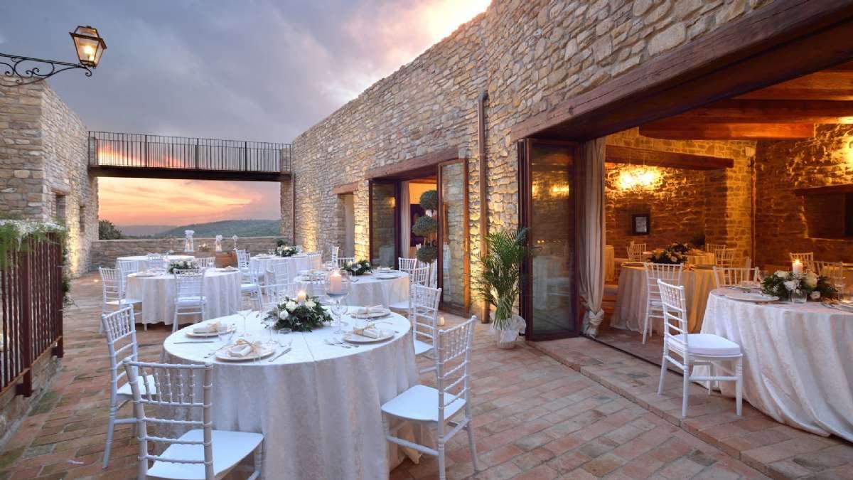 Borgen Sorgnano med restaurant