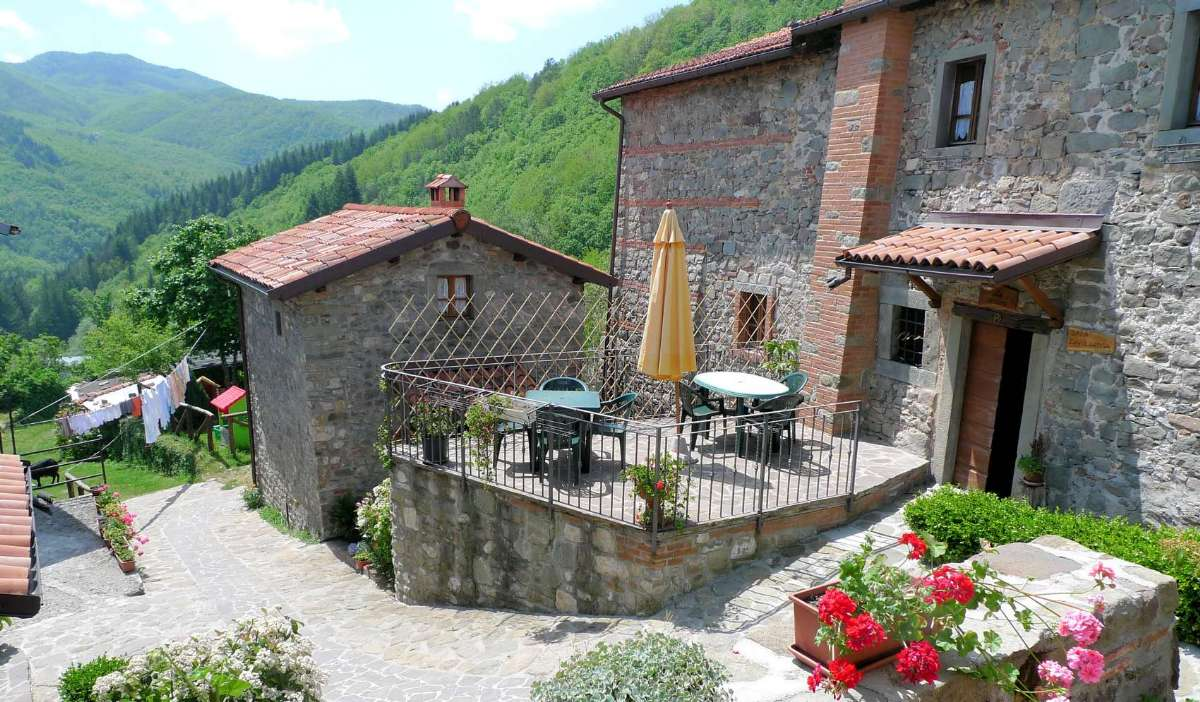 Res på semester till en agriturismo i vackra Garfagnana i Toscana