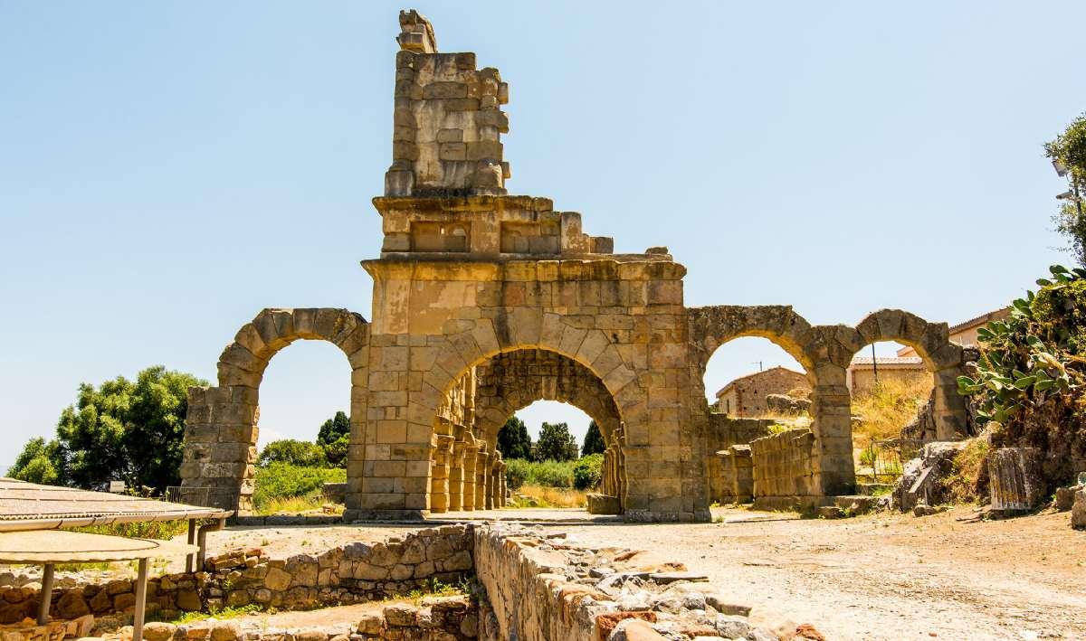 De romerske ruiner