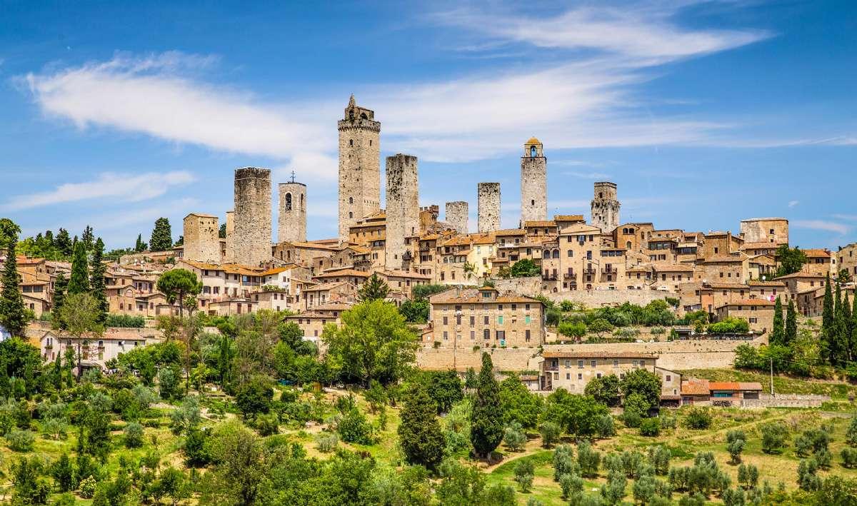 San Gimignano med de smukke tårne