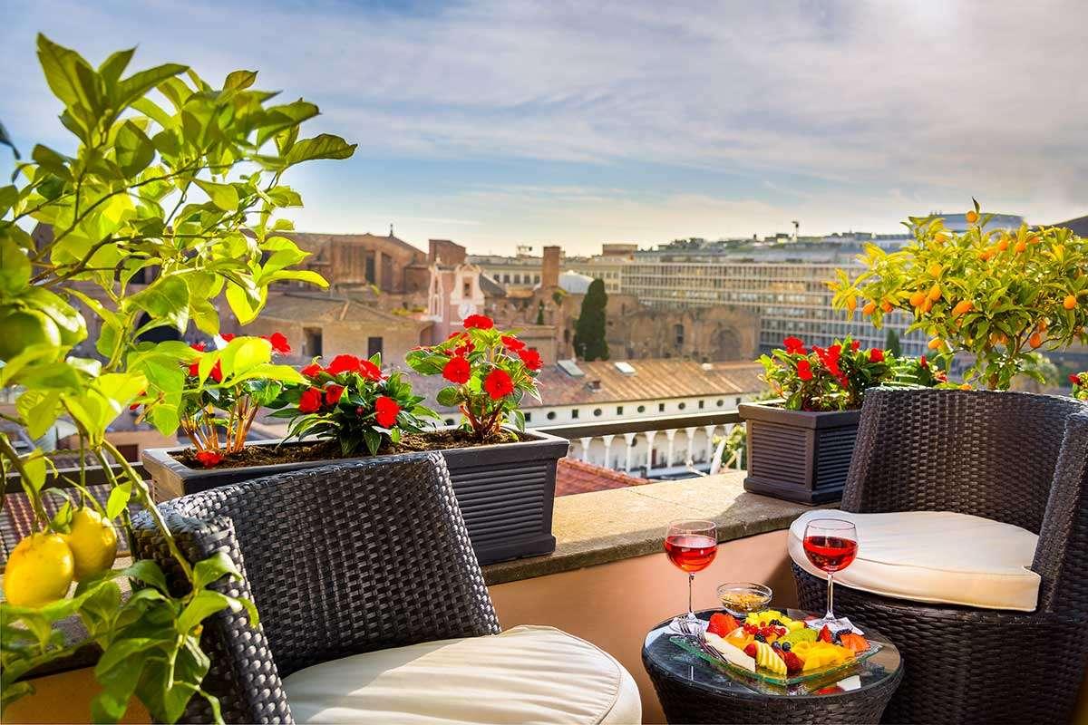 Nyt ferien på din private terrasse