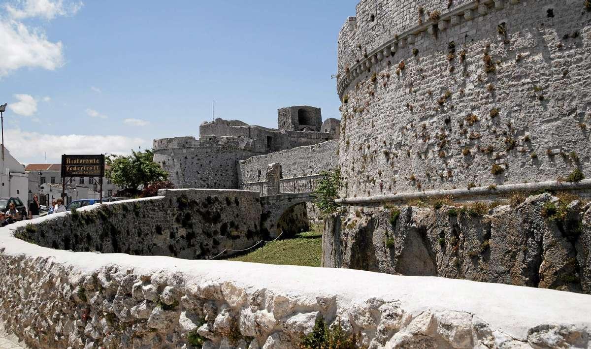 Slottet i Monte Sant'Angelo