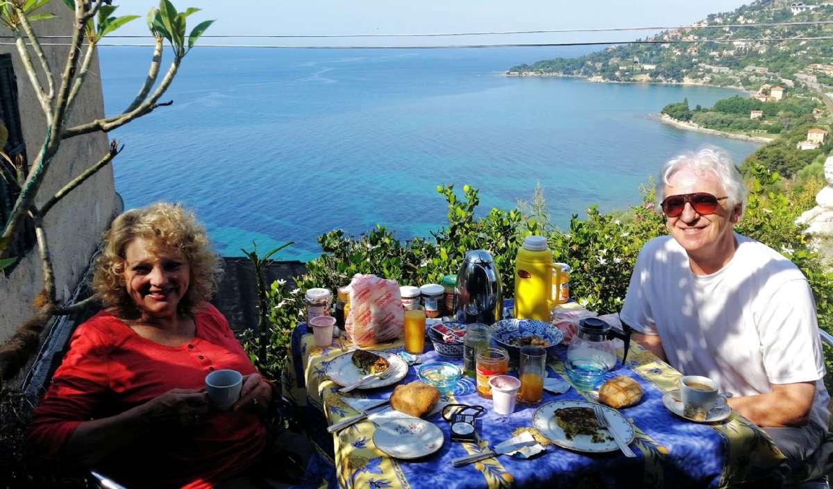 Frukost på Casa Lorenzina B&B