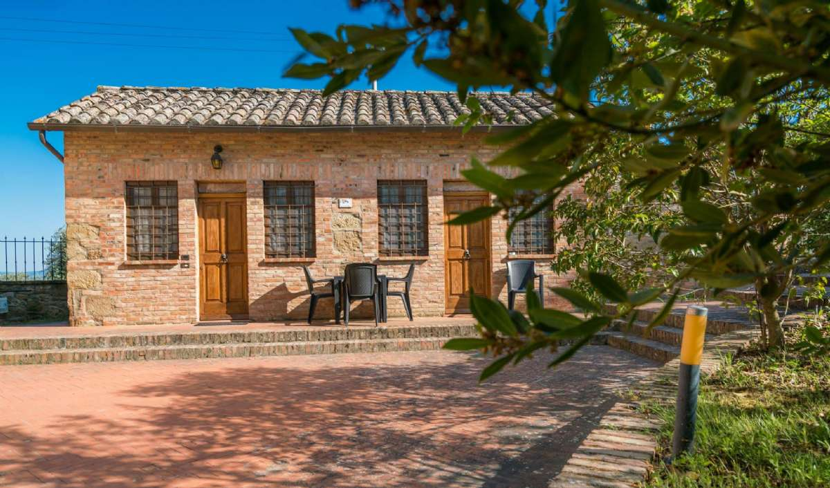 Lägenheten Glicine ligger i ett självständigt litet hus