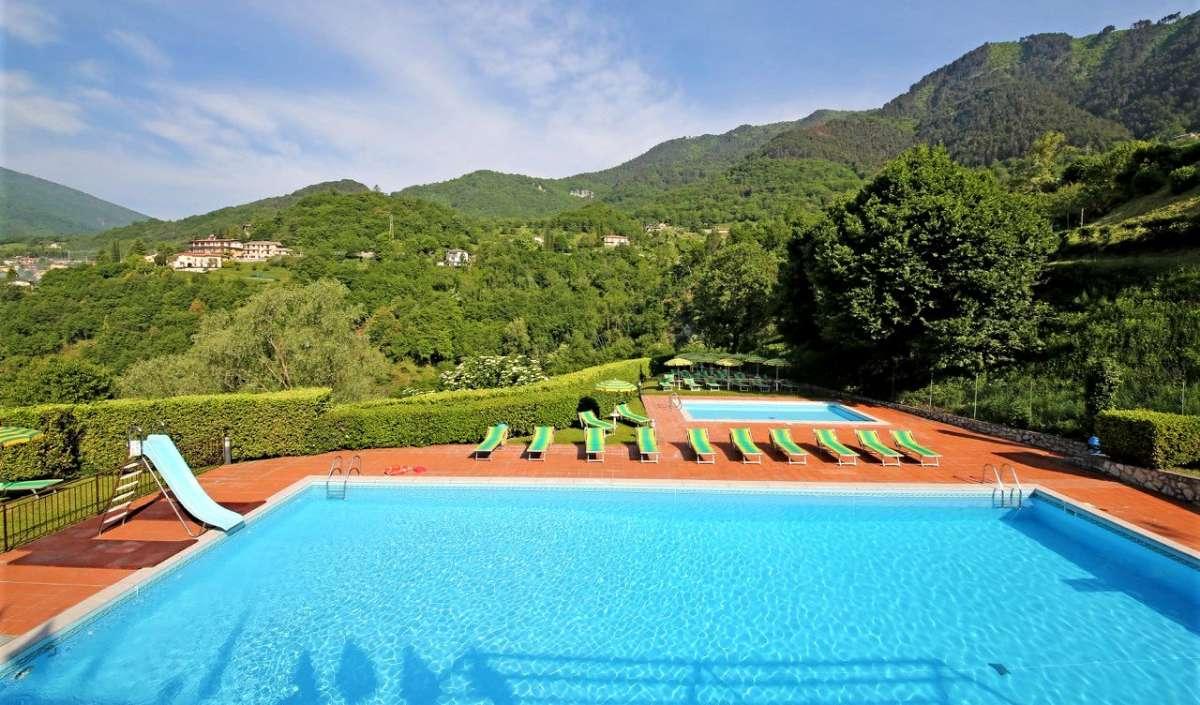 Den gode pool som gæster på Terrazze Apollo har adgang til.