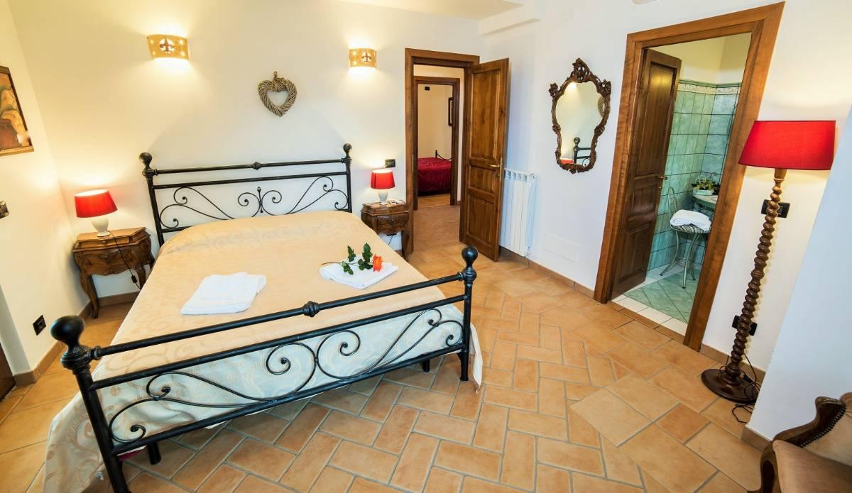 Soveværelse i lejligheden Giglio Rosso