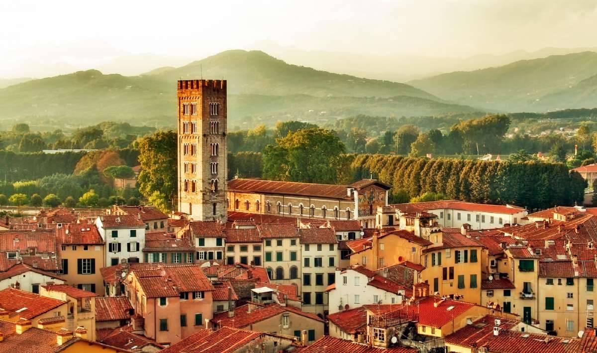 En vy över Lucca - som att resa in i en annan värld