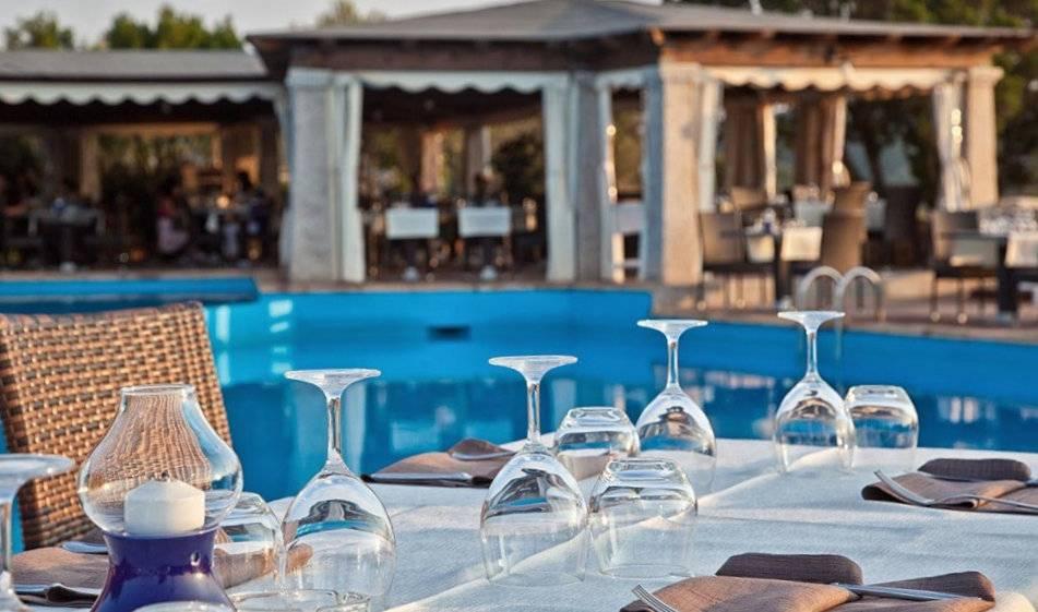 Restaurang vid poolen