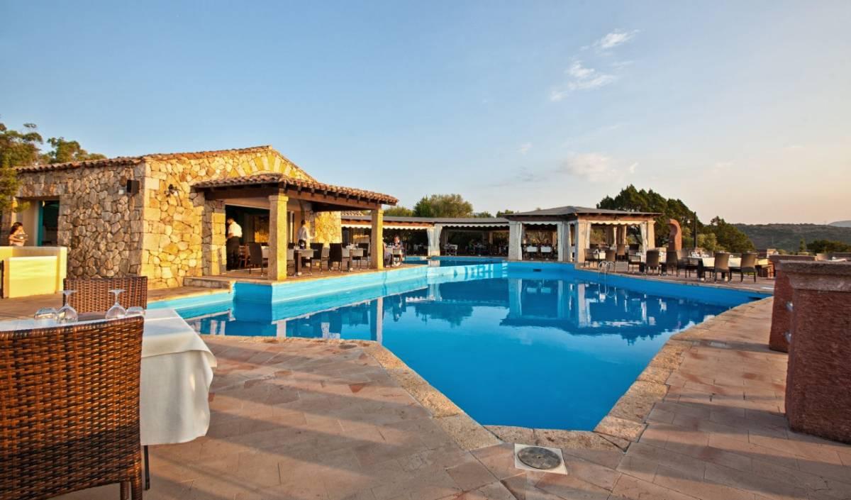 Restauranten ved pool
