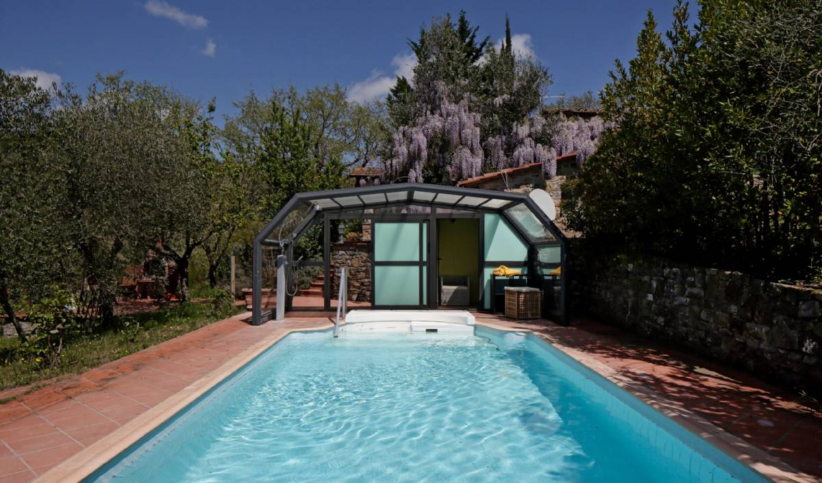 Exempel på villa med privat pool