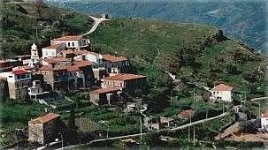 Utsikt över Guarrazzano från Amalafede