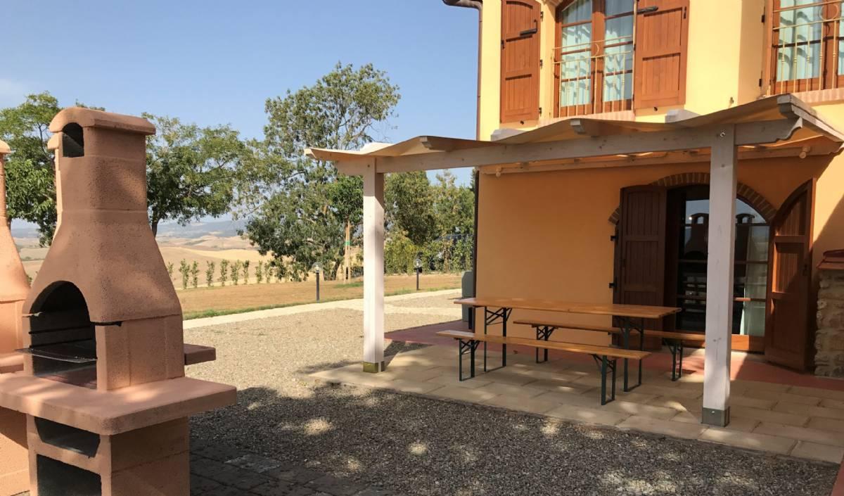 Terrassen til lejlighed Papavero