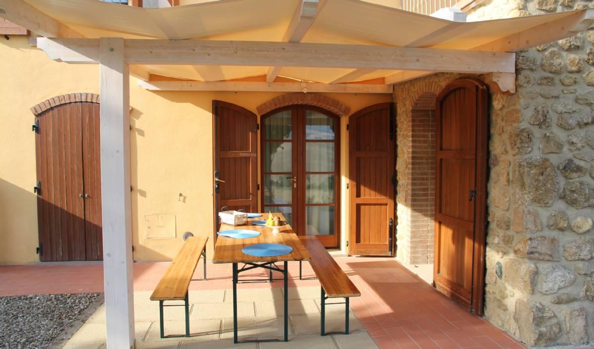 Terrassen til lejlighed Gelsomino