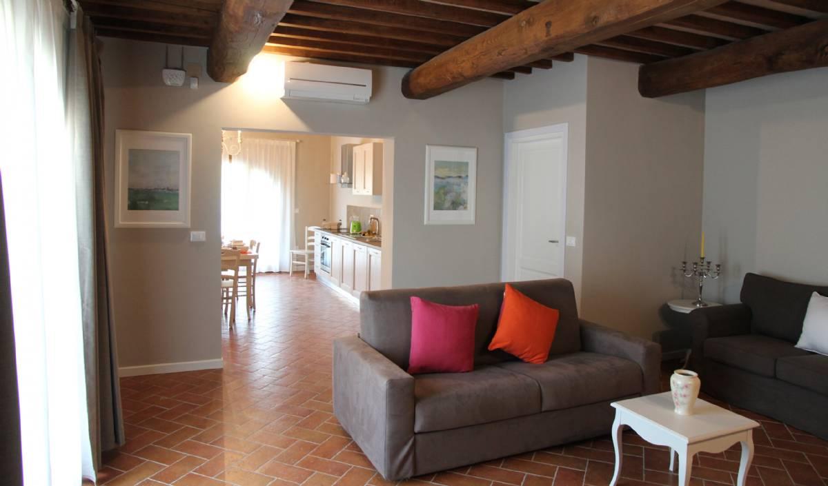 Stue i lejlighed Gelsomino