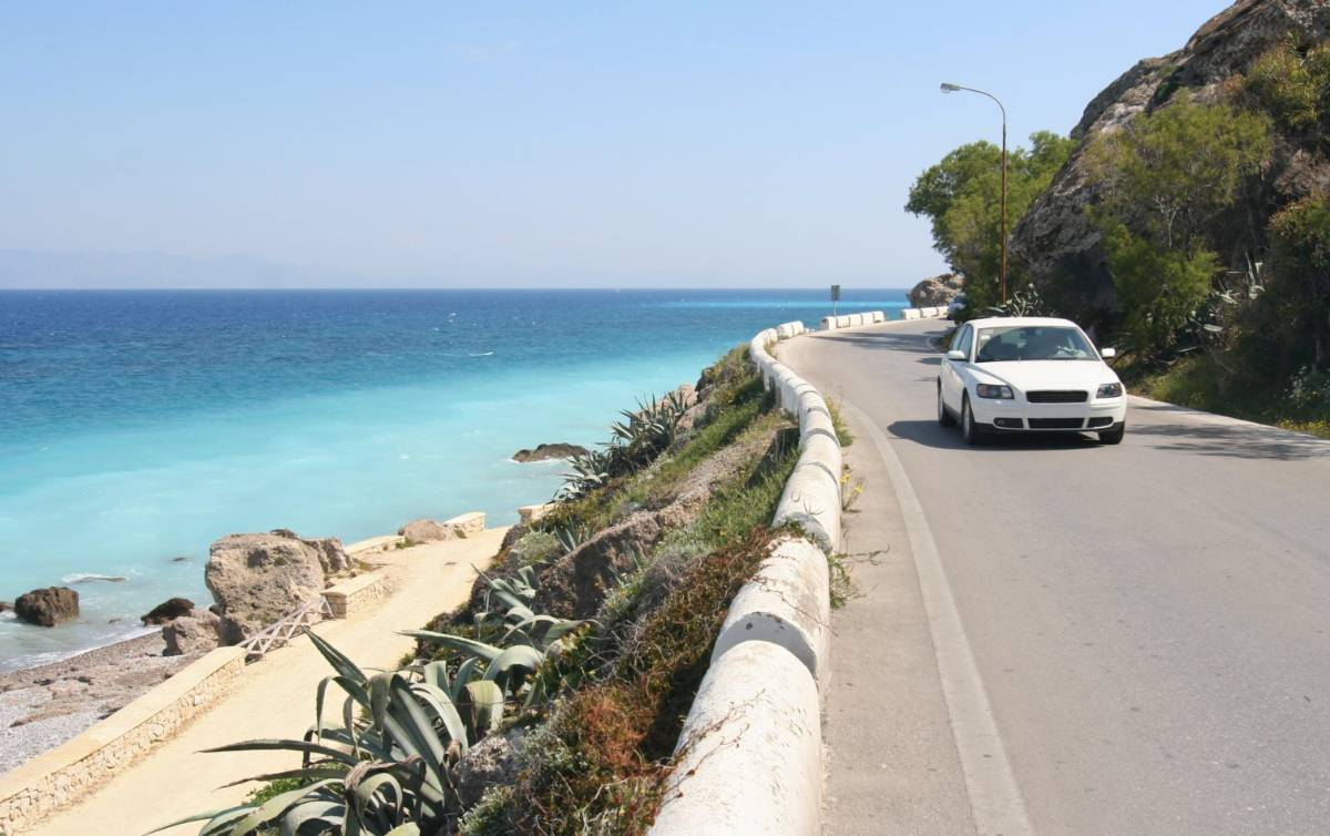 Vejene i Italien kan være meget smukke