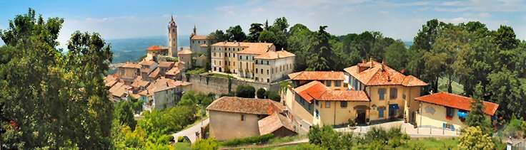 La Villa Beccaris sur la droite