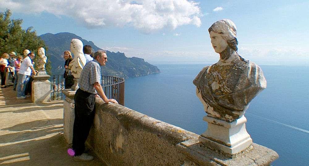 Vue sur la Villa Cimbrone