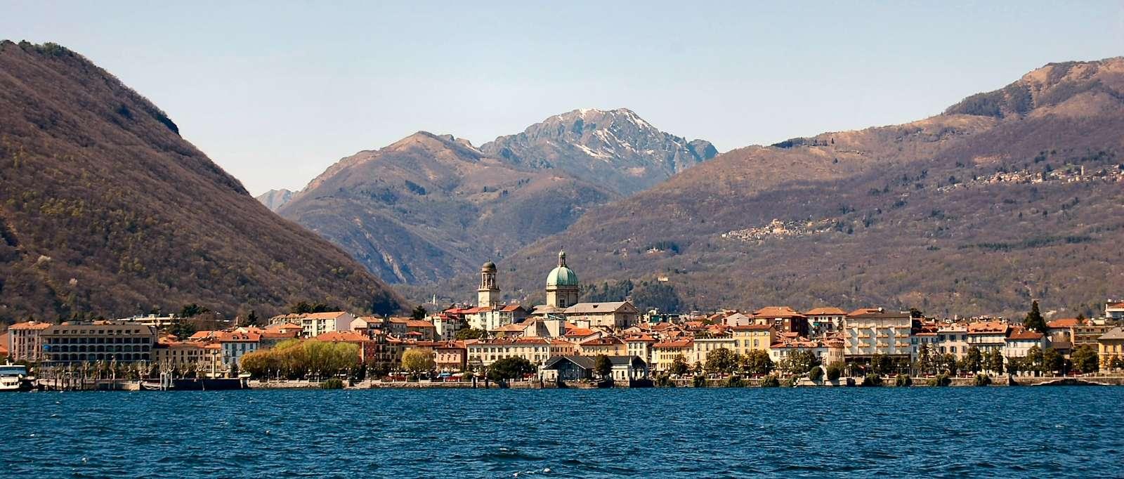 Maggioresjöns huvudstad Verbania