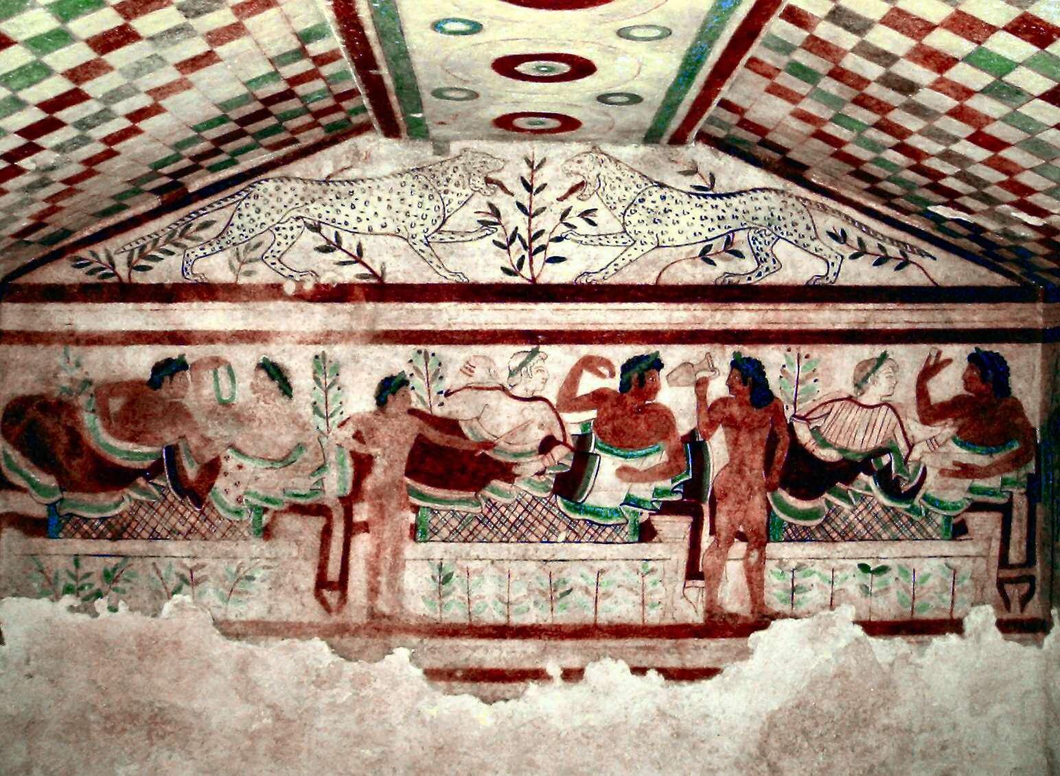 Relik från etruskerna