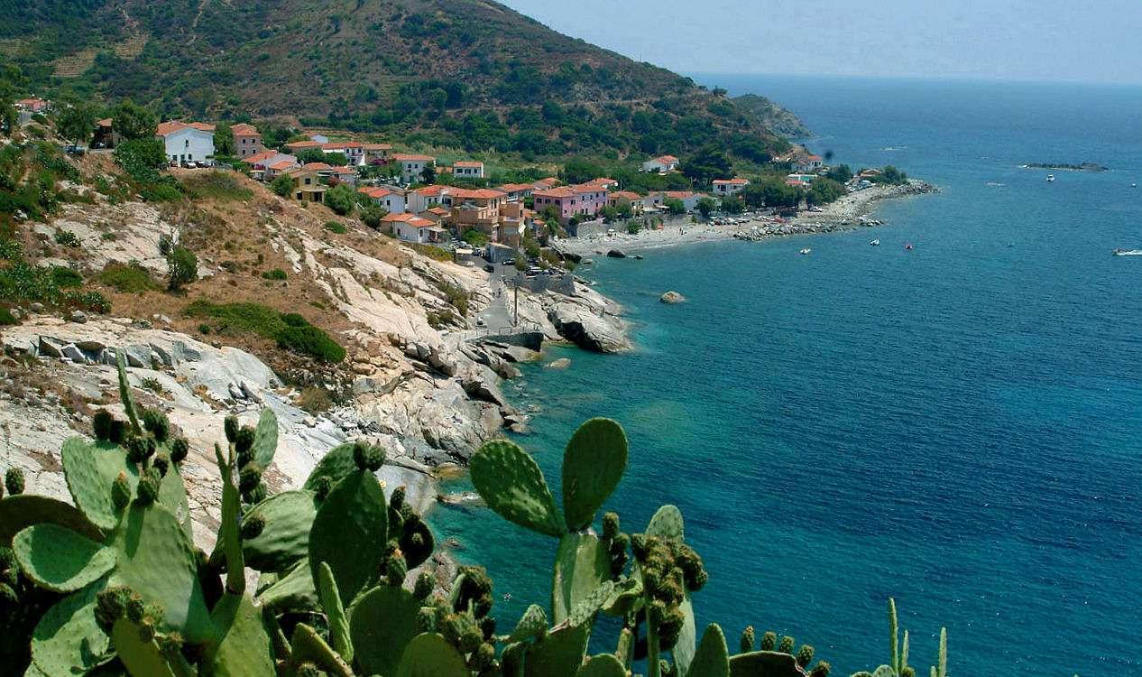 Elbas vakre kystlinje